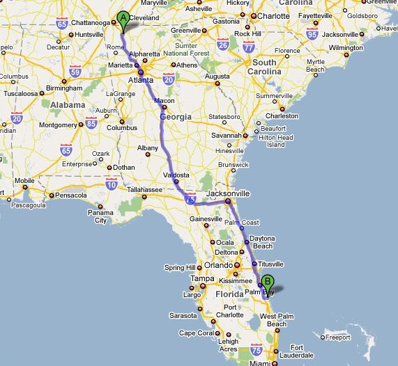Drove Down To Vero Beach Florida Today  Shane Holden