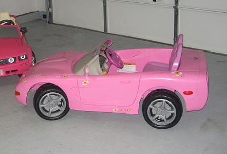 pink corvette power wheels shane holden. Cars Review. Best American Auto & Cars Review