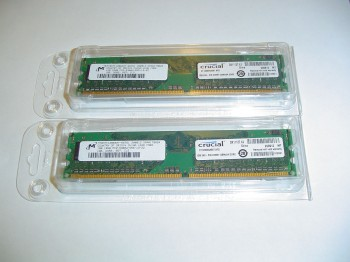 New Sticks of RAM - 1GB Each