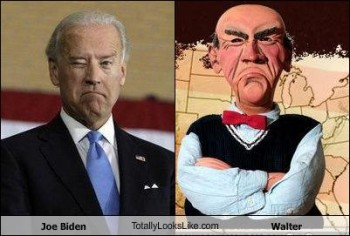 Resemblance of Joe Biden & Jeff Dunham's Walter